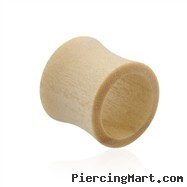 Pair Of Natural Blonde Wood Saddle Tunnels